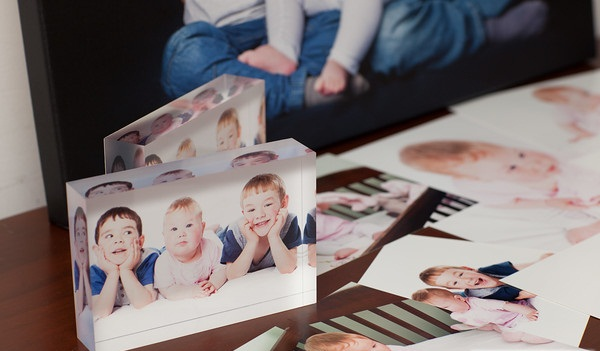 Family photography - acrylic blocks
